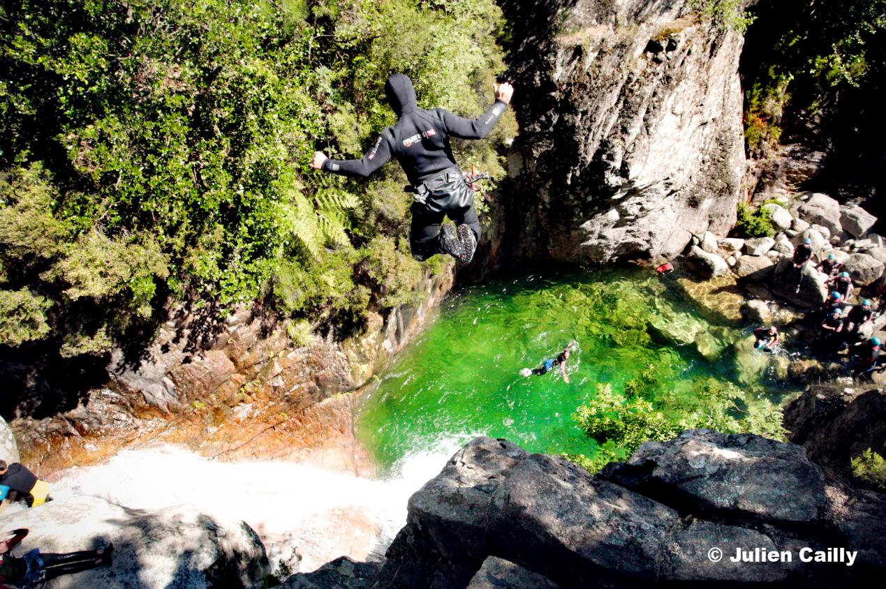 canyoning à Zonza